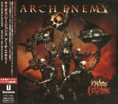 Arch Enemy - Khaos Legions 2011 [Japanese Ed.] (Lossless)