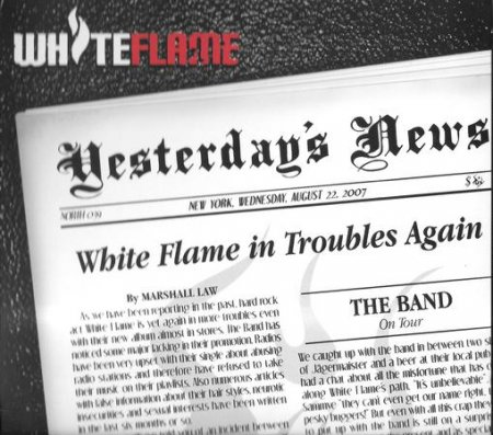 WHITE FLAME - YESTERDAYS NEWS 2007 (Lossless + MP3)