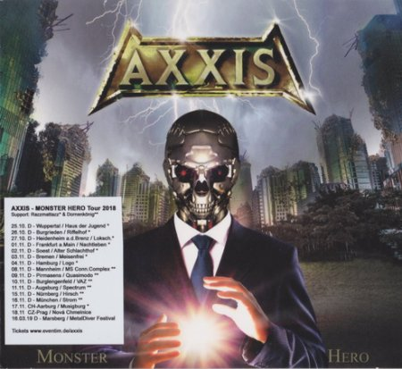 Axxis - Monster Hero 2018 (Lossless + Mp3)