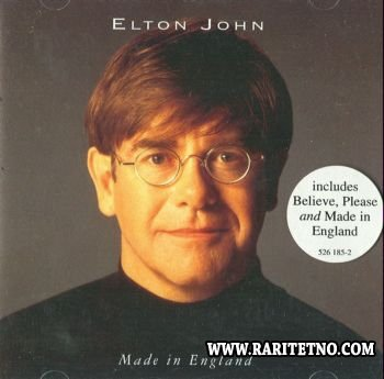 Elton John - Made In England 1995 (Lossless+MP3)