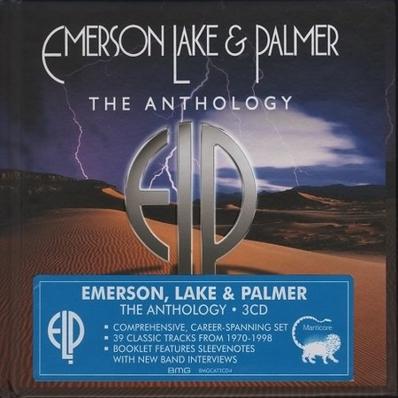 Emerson, Lake & Palmer - The Anthology (3СD) 2016 (lossless + mp3)