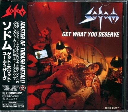 Sodom - Get What You Deserve 1994 (Lossless)