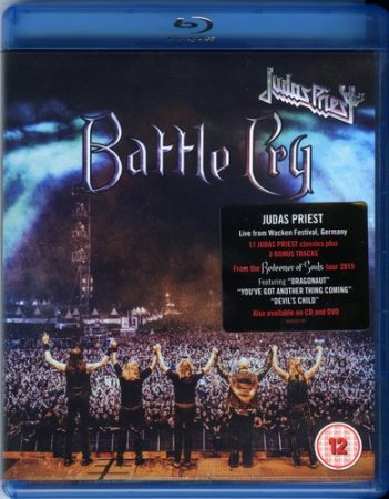 Judas Priest - Battle Cry (Wacken Open Air 2015) (DVD9) (Blu-Ray Disc Rip)