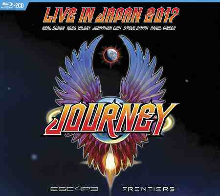 Journey - Escape & Frontiers Live in Japan (2CD) 2019