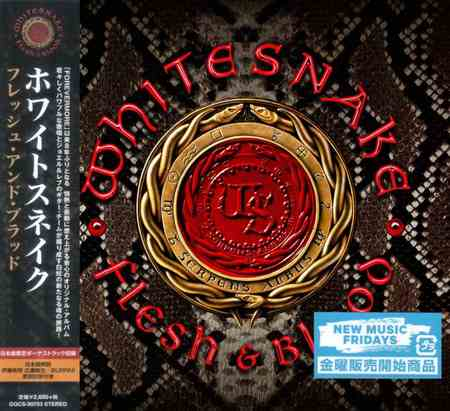 Whitesnake - Flesh & Blood (Japanese Edition) 2019 (lossless)