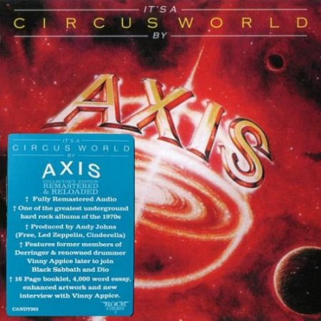 Axis - It's A Circus World 1978 (Rock Candy Remaster 2018)