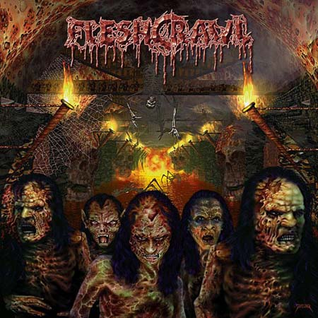 Fleshcrawl - As Blood Rains From The Sky 2000