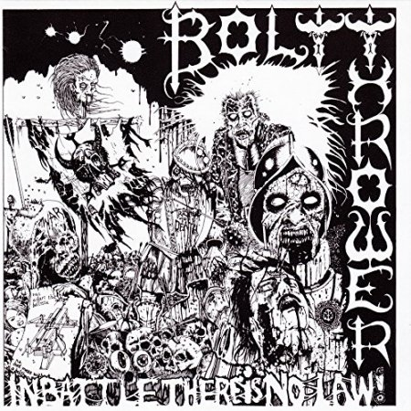 Bolt Thrower - In Battle There Is No Law 1988
