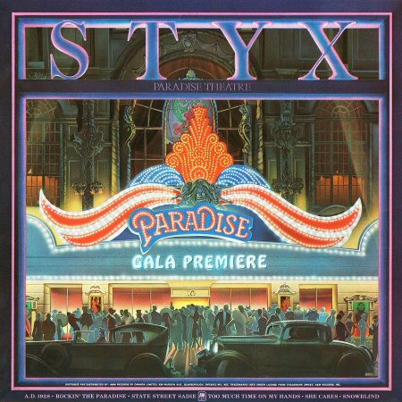 Styx - Paradise Theater 1980