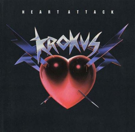 Krokus - Heart Attack 1988 (lossless+mp3)