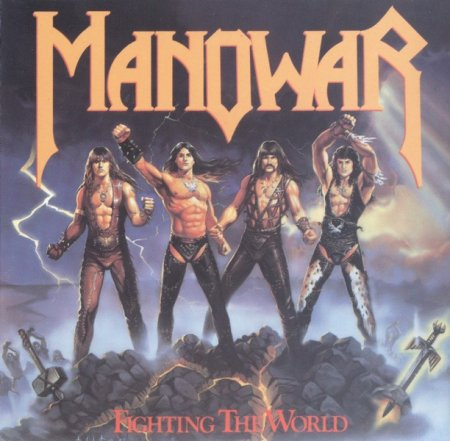 Manowar - Fighting the World 1987 (Lossless)